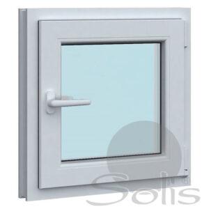 Еднокрил пвц прозорец 5-камерен 50х50см