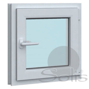 Еднокрил пвц прозорец 5-камерен 60х60см